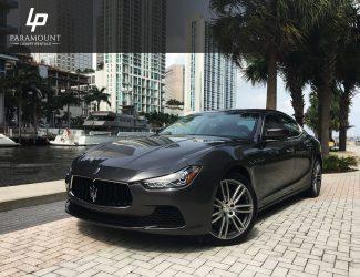 Maserati Ghibli- Front Angle Photo