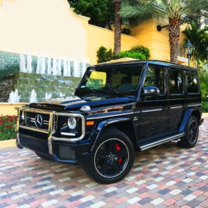 Mercedes Benz G63 AMG Rental Miami