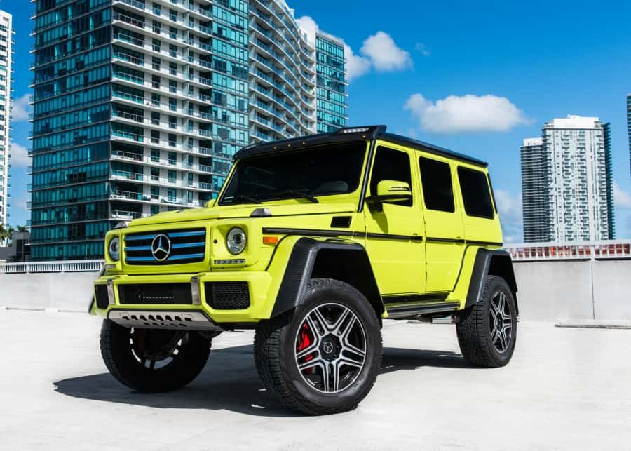 Mercedes Benz G550 rental Miami