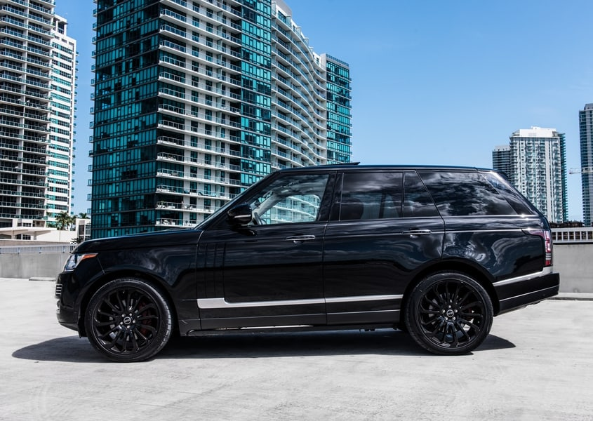 Range Rover for rent in Miami