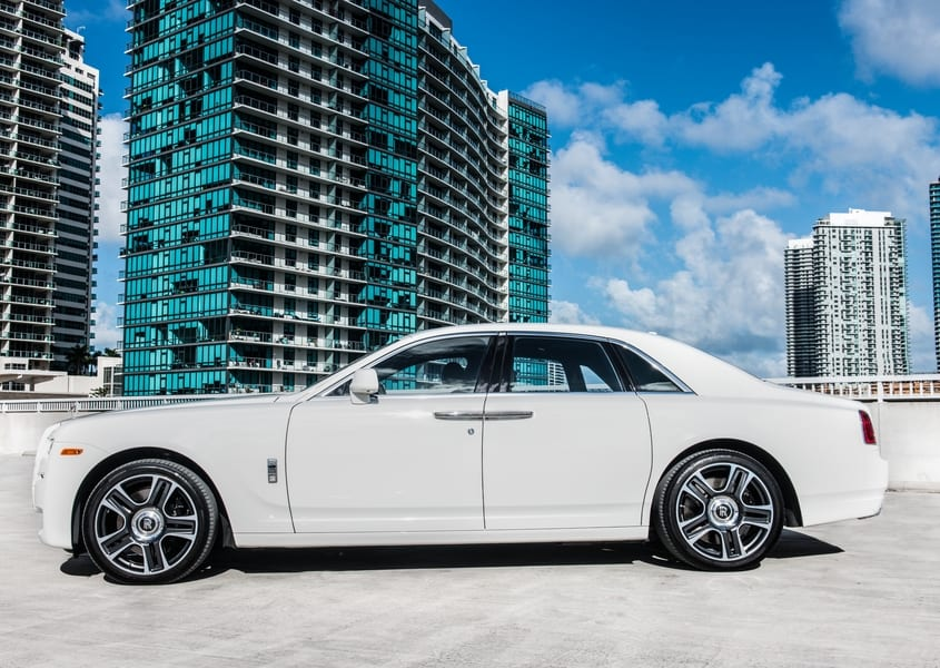 Rolls Royce Ghost for rent in Miami
